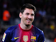 Barcelona have agreed to extend Lionel Messi's contract until 2018, . lionel messi barcelona super picture