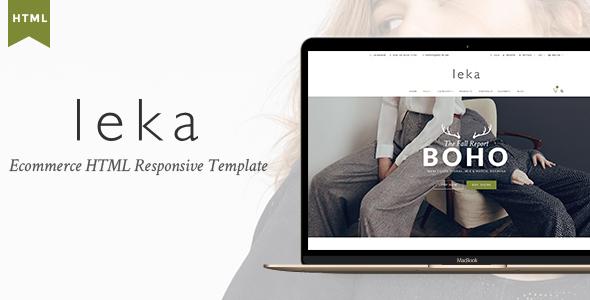 download Leka - Ecommerce HTML Responsive Template