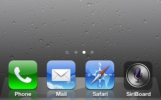 SiriBoard - Launch Siri Directly From Your Home Screen