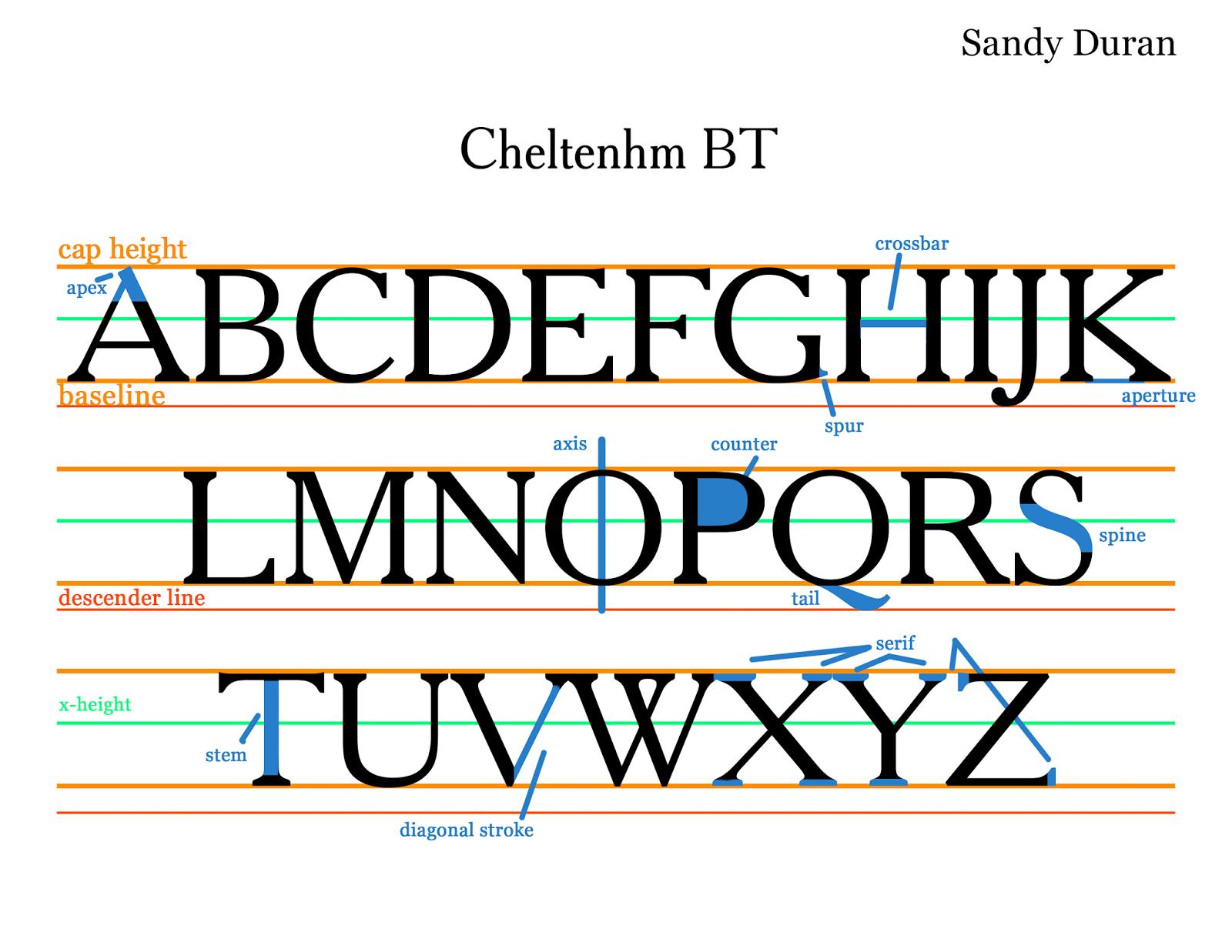 Typographywinter2014 Type Anatomy S Duran