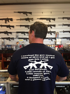 I survived the gun control scare of 2013 and all i got was this Tshirt