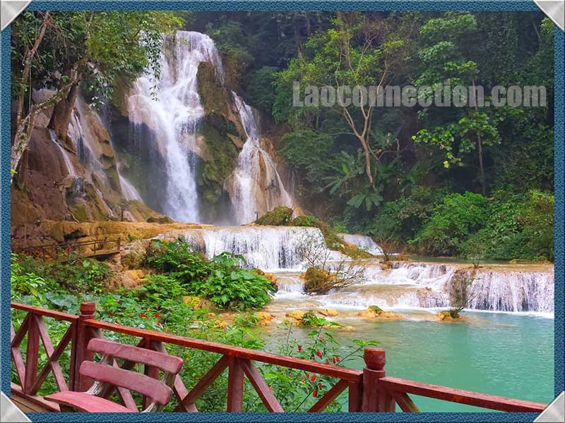 Memories of Tat Kuang Si Waterfalls, Luangprabang