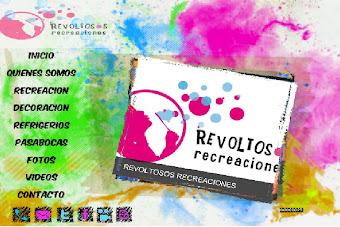 VISITEN LA PAGINA WEB DE REVOLTOSOS RECREACIONES