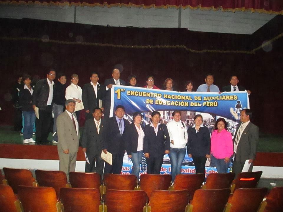 ORGANIZADORES DEL ENCUENTRO NACIONAL 07 JUN. 2013