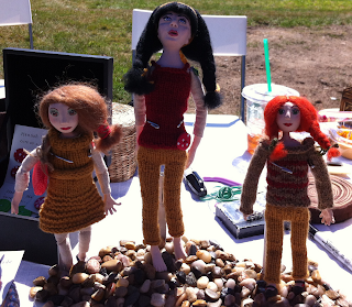 Hannah-Made handmade dolls at Tattersall Farm Day