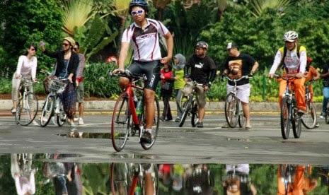 Pemkab Bandung Gagas Jumat Bersepeda