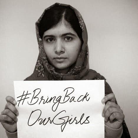 #BringBackOurGirls マララ・ユスフザイ