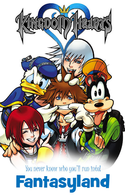 Kingdom Hearts Mockup Poster Disney