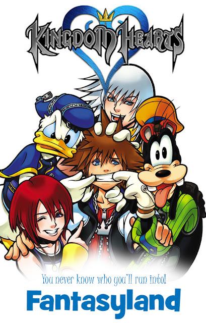 Kingdom Hearts Mockup Poster Disney