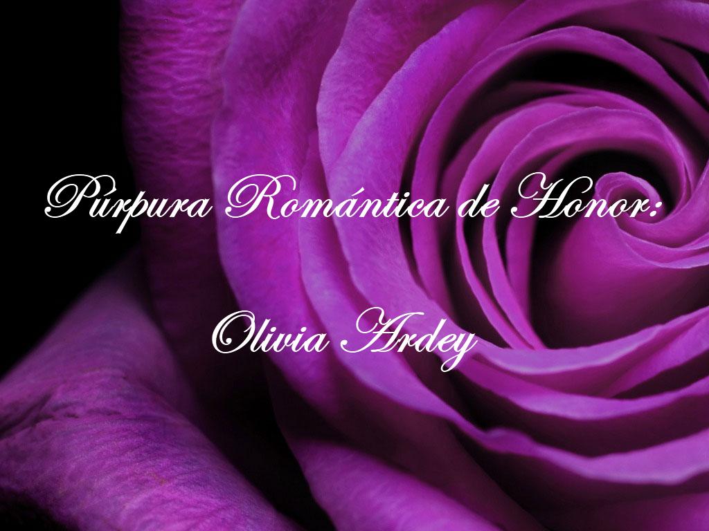 Premio Púrpura Romántica de Honor 2015