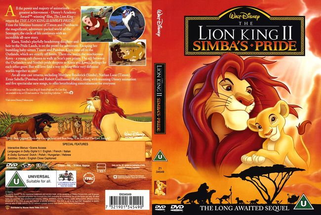 The Lion King II: Simba's Pride – Latino