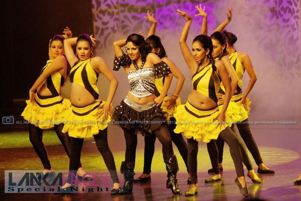 Shalini Tharaka black navel