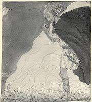 Pintura de Loki de John Bauer