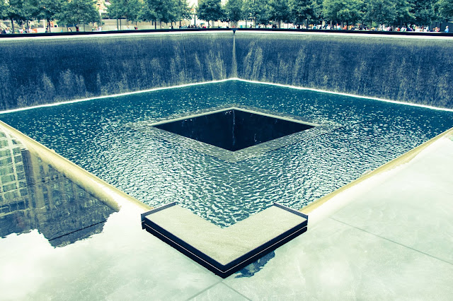 9/11 Memorial Waterwall, New York City