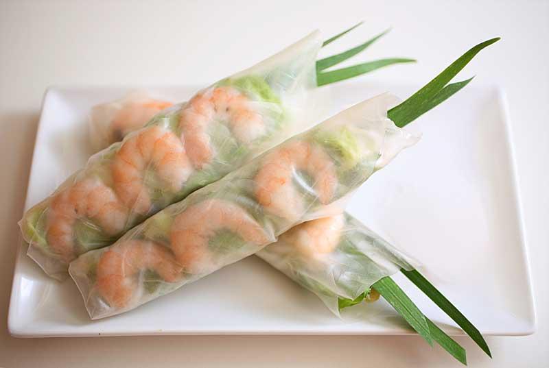 Mondi e Sapori: Goi Cuon (Involtini in carta di riso, Salad Rolls)