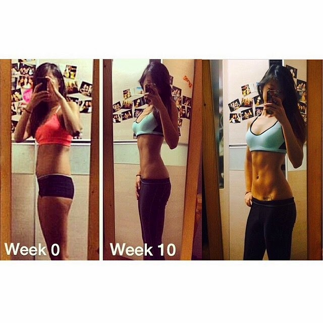 Kayla Itsines Bikini Body Guide Bodybuilding Girl Fitness Transformation