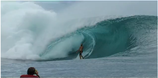 mark mathews teahupoo trip O