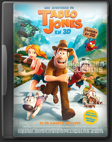 Las Aventuras de Tadeo Jones (DVDRip Castellano) (2012)