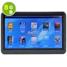 8GB 4.3 inch Touchscreen Mp4 Player with FM Radio