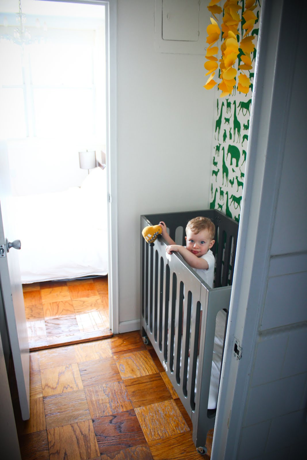 small apartment mini nursery cribs