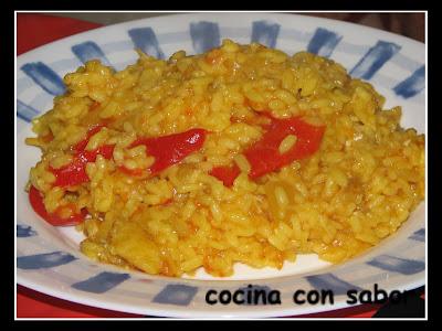 Cocina con sabor arroz con bacalao chef 2000 - Arroz con bacalao desmigado ...