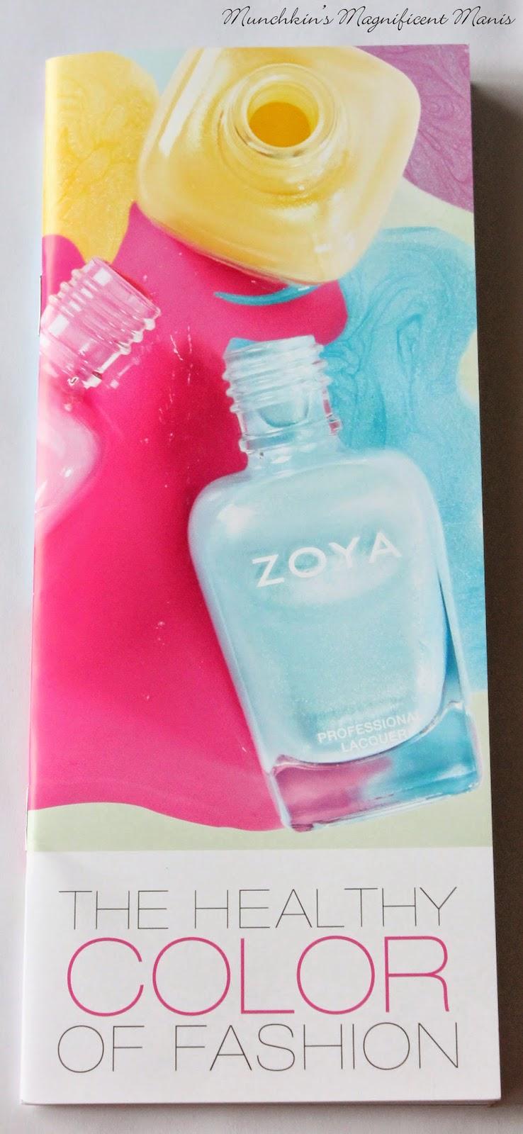 Zoya spring 2015 color chart