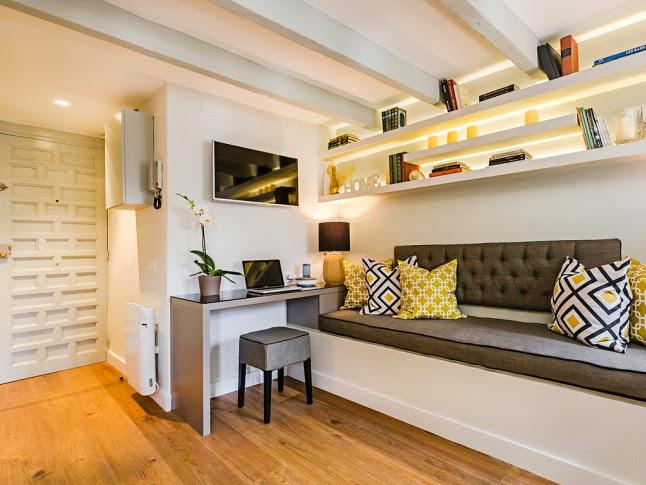Espa os pequenos apartamento de 20m2 casa com moda for Decoracion de casas de 7 metros