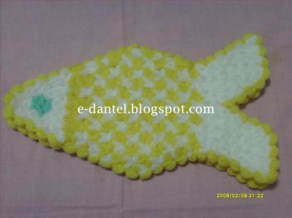 Balık Motifli Lif Modelleri