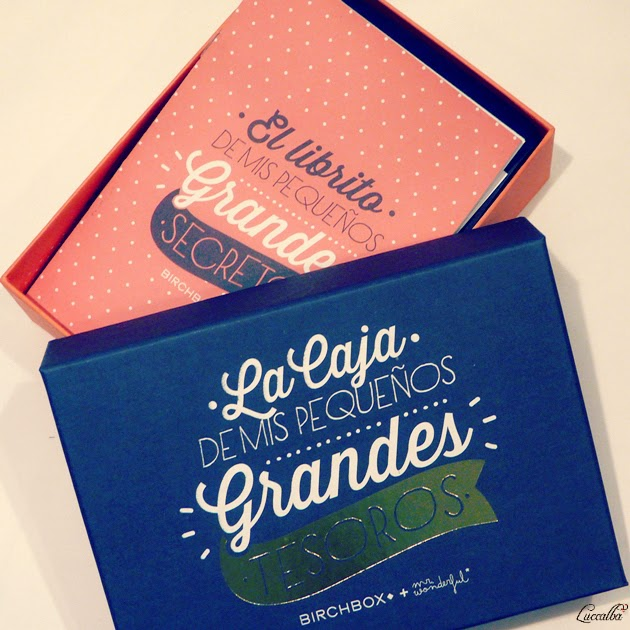 Birchbox + Mr. Wonderful