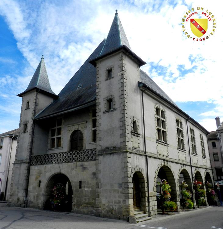 patrimoine de lorraine mirecourt 88 les halles 1614