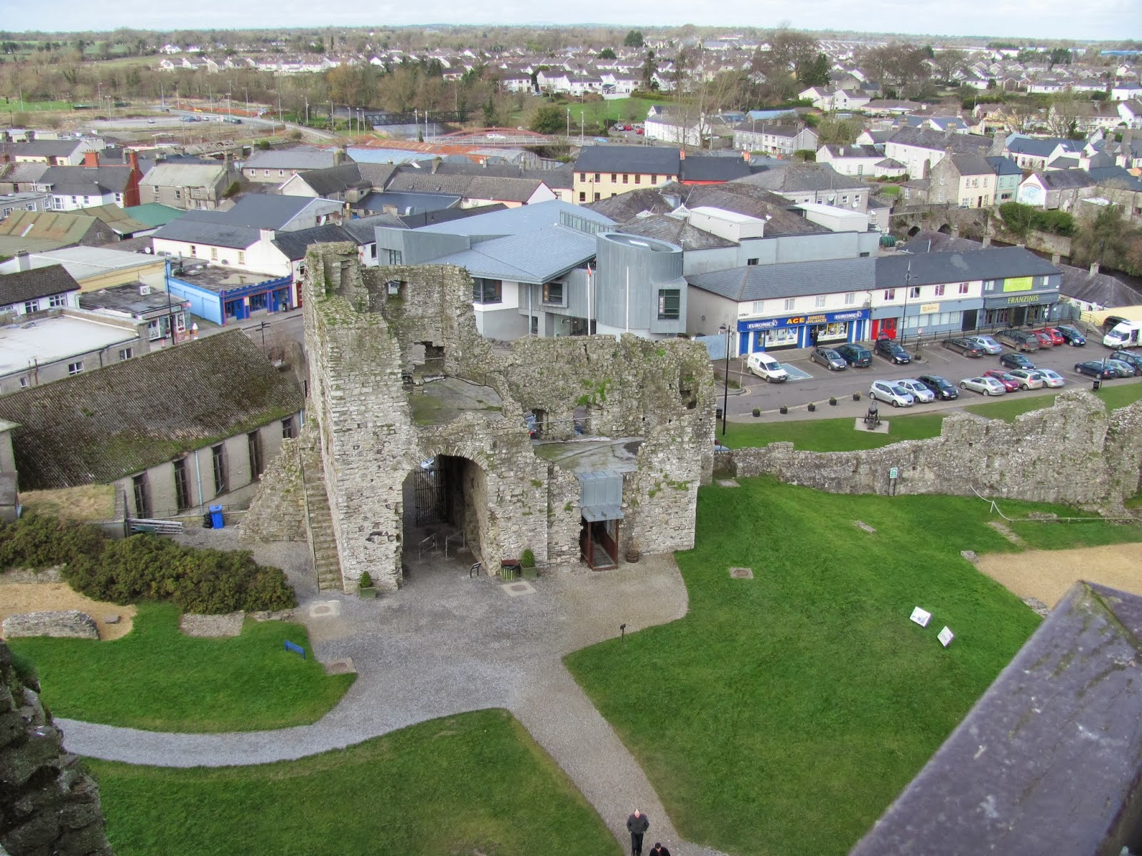Main Castle Town Gate, Trim Castle, Trim, Ireland