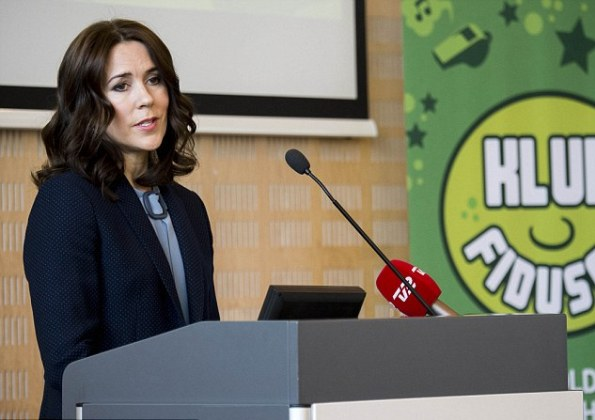 Crown Princess Mary Attended A Conference In Brondby