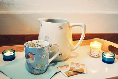 Ingwer-Tee im Winter