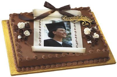3tier Grand graduation stars cake