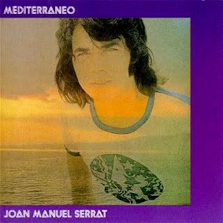 Carátula de Mediterráneo (Joan Manuel Serrat 1971)