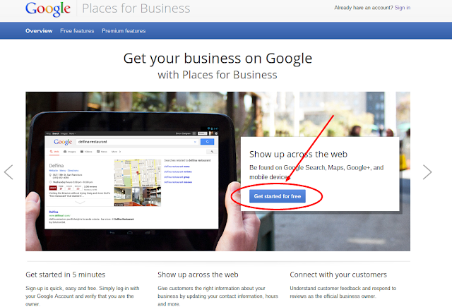 Set Up Google Places For Small Businesses