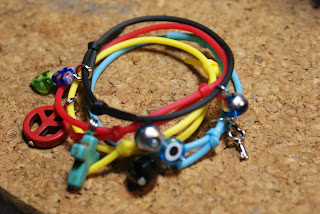 Rubber bracelets by Toolbox