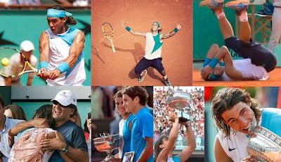 Nadal gana la final de Roland Garros 2007 ante Roger Federer