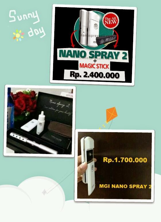 Nano Spray 2 + MGI Nano Spray 2