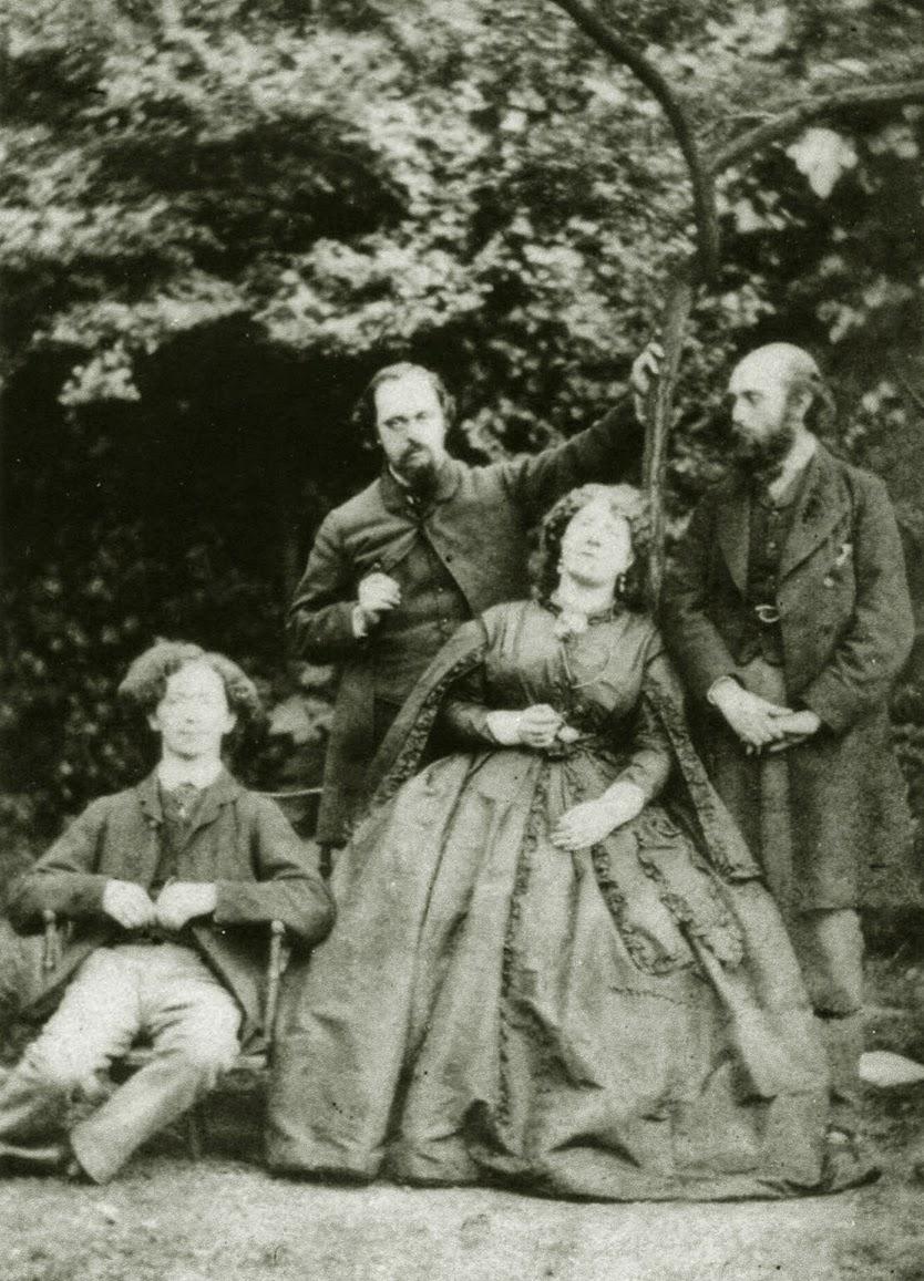 Dante Gabriel Rossetti - Fanny Cornforth - Photograph