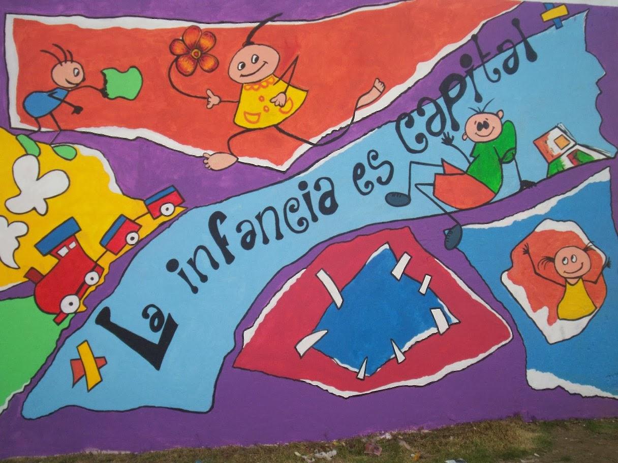 Arte en la escuela intervenciones artisticas 3cer mural for Arte colectivo mural
