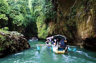 Green Canyon Body Rafting Batu Karas Wisata Pangandaran