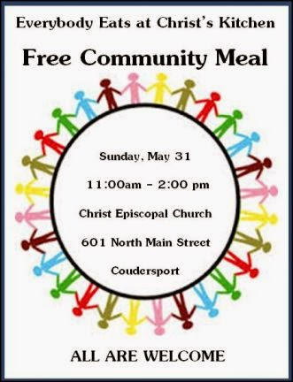 5-31 Free Community Meal