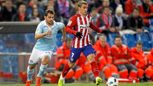 Debacle copera del Atlético antes de visitar al Barça (1-3)
