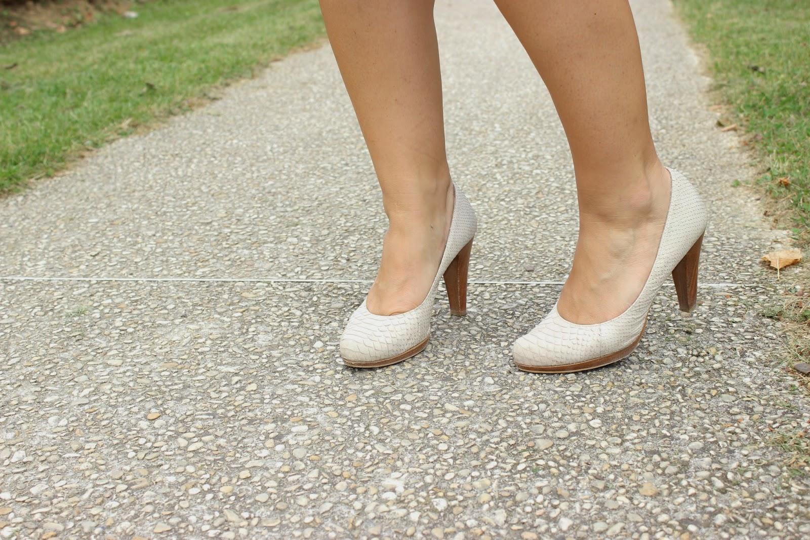 chaussures gadea blanche