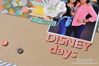 nancy keslin, thickers, mist, disney, scrapbook, kit club