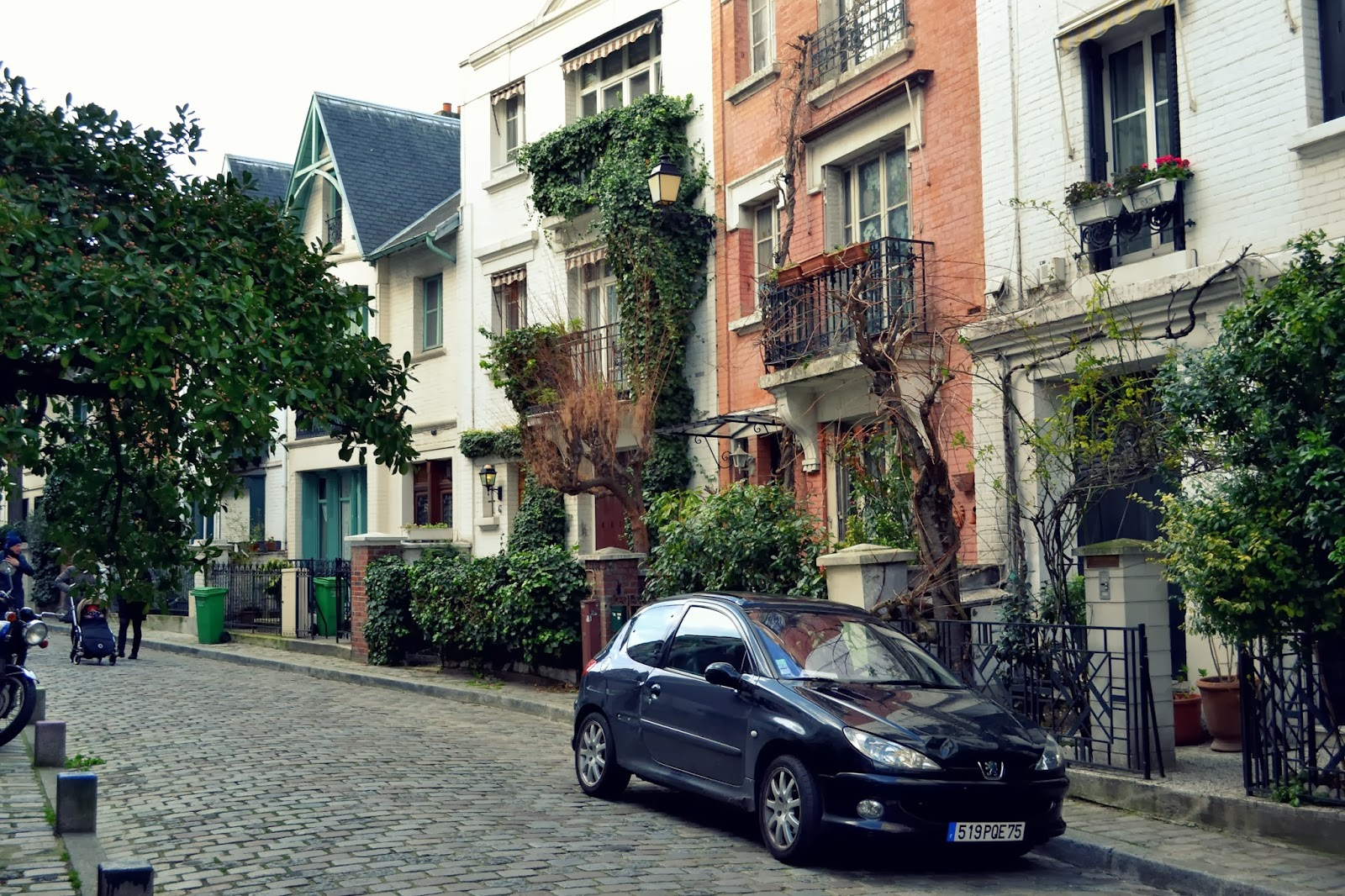 Very pretty Parisian Street
