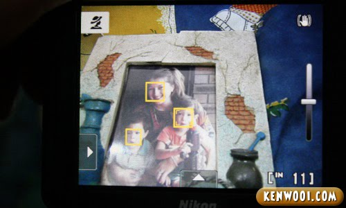nikon coolpix s1100pj face detection