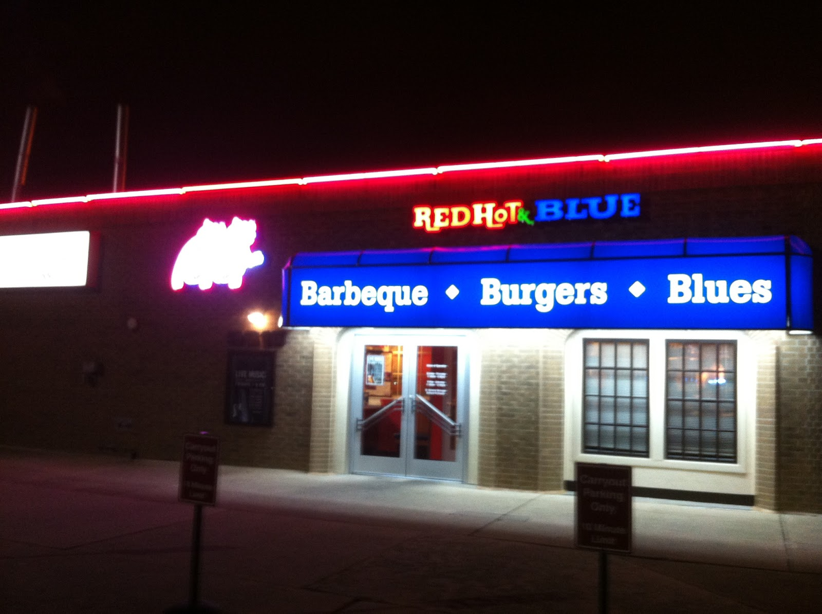 Red Hot Blue Dallas BBQ Barbecue Barbeque Bar-B-Que