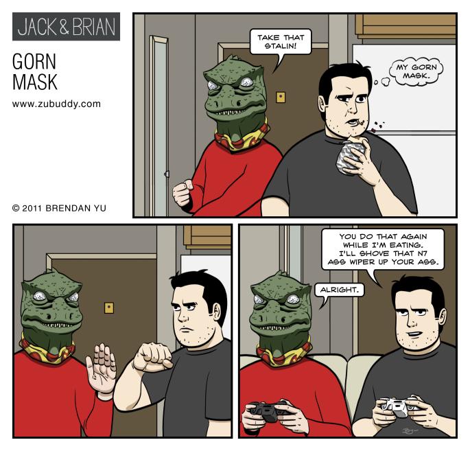 Gorn Mask